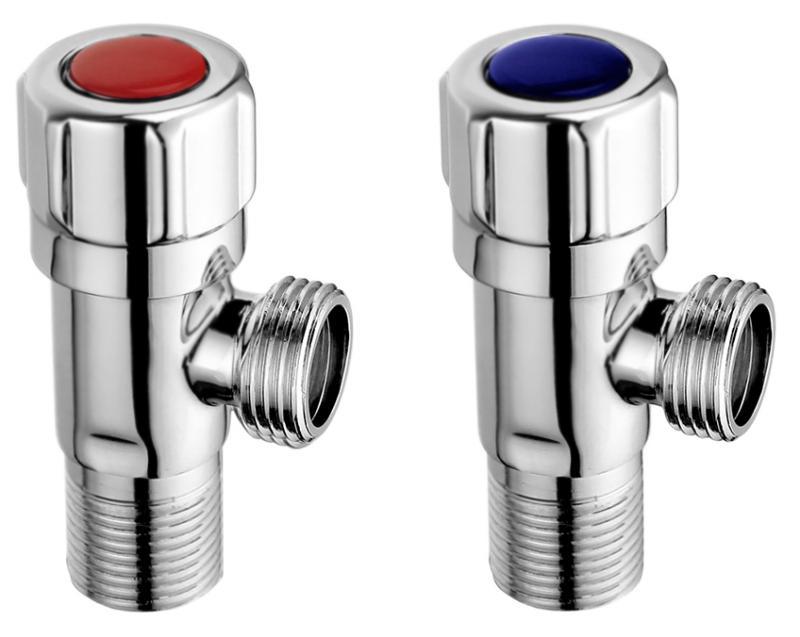 BB-VLV-05-CRM ХромСмесители<br>Два запорных вентиля BelBagno BB-VLV-05-CRM для горячей и холодной воды.<br>Покрытие: глянцевый хром.<br>Материал: латунь.<br>Поворотная рукоятка: 90 градусов.<br>Стандарт подключения: G1/2.<br><br>В комплекте поставки:<br>вентиль для горячей воды;<br>вентиль для холодной воды.<br><br>