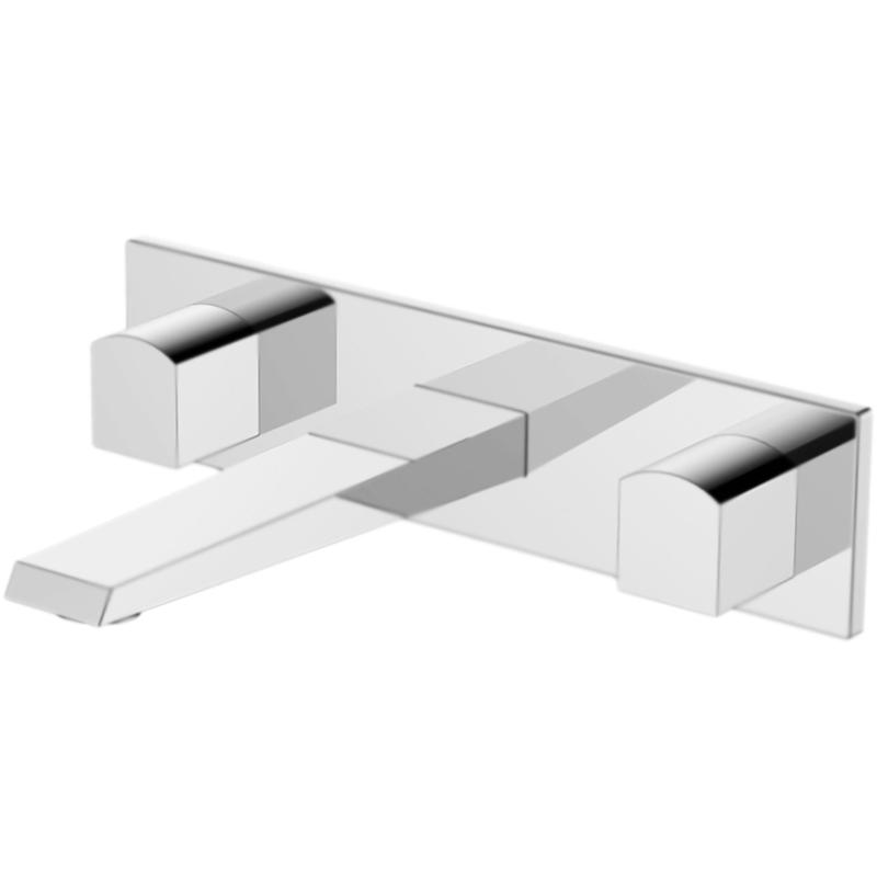 Arlie ARL-BLI-CRM ХромСмесители<br>Настенный смеситель для раковины и раковины-чаши BelBagno Arlie ARL-BLI-CRM двухвентильный, с аэратором, встраиваемый в одно отверстие.<br>Покрытие: глянцевый хром.<br>Материал: латунь.<br>Фиксированный излив: 17,8 см.<br>Керамические кран-буксы.<br>Стандарт подключения: G1/2.<br>Рабочий интервал давления: 0,5-6 Атм.<br><br>В комплекте поставки:<br>внешняя часть смесителя;<br>внутренняя часть смесителя;<br>комплект креплений.<br><br>