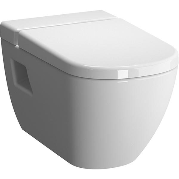 D-Light 5910B003-1086 подвесной без сиденьяУнитазы<br> Унитаз Vitra D-Light 5910B003-1086 подвесной.<br>Компактная модель унитаза из прочного сантехнического фарфора толщиной 18 мм.<br>Особенности: <br>Система Vitra Fresh: специальная емкость для чистящей жидкости. Небольшое количество средства выделяется при каждом нажатии на кнопку смыва, очищая унитаз и ароматизируя воздух в санузле,<br>Унитаз изготовлен из сантехнического фарфора. Этот материал не впитывает грязь и сохраняет белизну долгие годы. <br>В комплекте поставки: <br>Чаша унитаза.<br>
