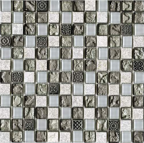 Мозаика L Antic Colonial Mosaico Tecno Quarz Emerald 29,6х29,6 см