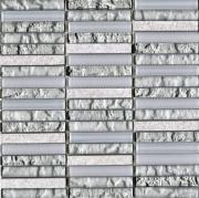 Мозаика L Antic Colonial Mosaico Tecno Linear Silver White  - фото