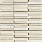 Мозаика L Antic Colonial Mosaico Time Text Linear Cream  - фото