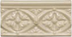 Керамический бордюр Adex Modernista Relieve Bizantino C/C Sand 7,5х15 см стоимость