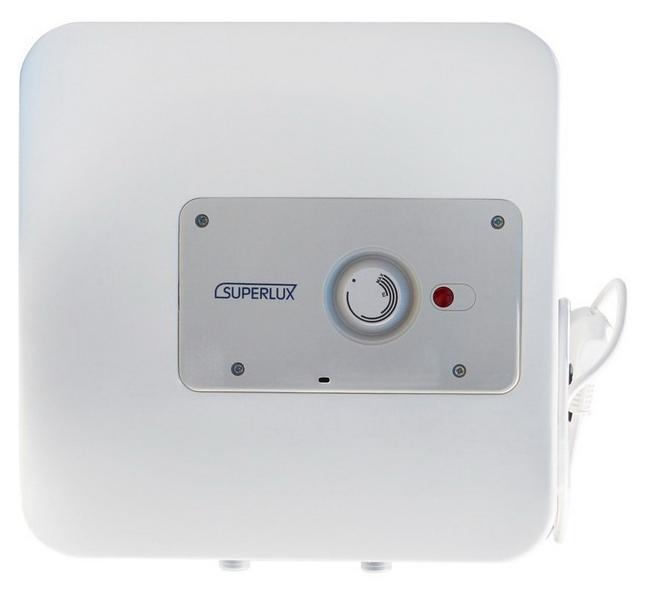 купить Накопительный водонагреватель Superlux NTS 10 R PL (SU) белый, с нижней подводкой онлайн