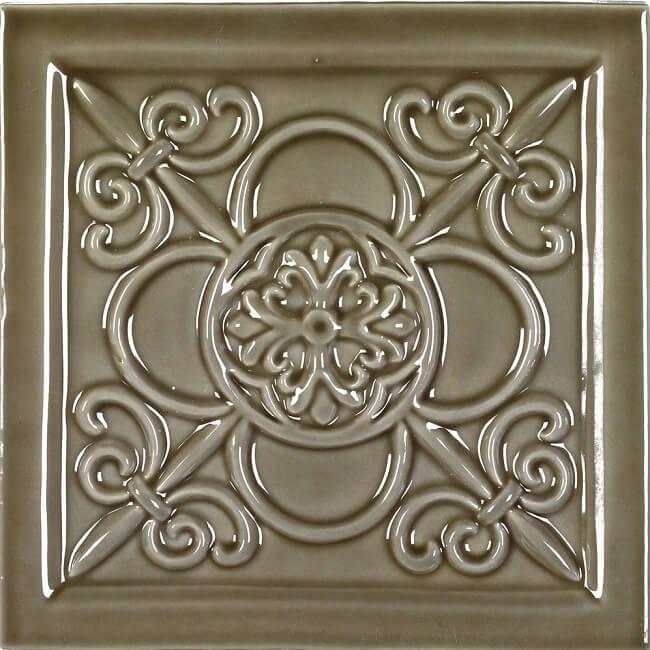 Керамический декор Adex Studio Vizcaya Eucalyptus 14,8х14,8 см
