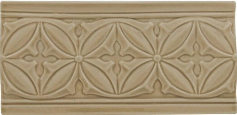Керамический бордюр Adex Studio Relieve Gables Silver Sands 10х19,8 см стоимость