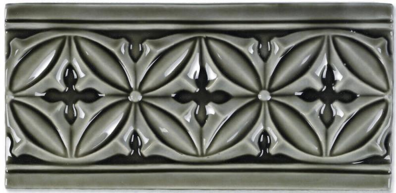 Керамический бордюр Adex Studio Relieve Gables Timberline 10х19,8 см