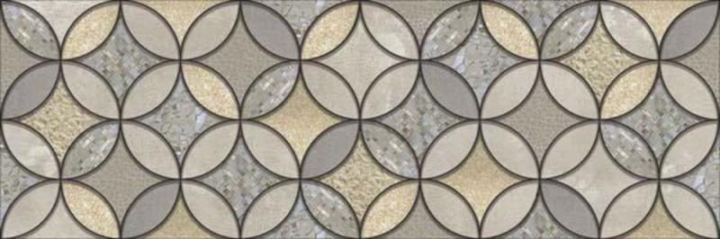 Керамический декор Alma Ceramica Грэйс ВС11ГР724 20х60 см керамический декор ceramica classic петра с 3 мя вырезами бежевый 20х60 см