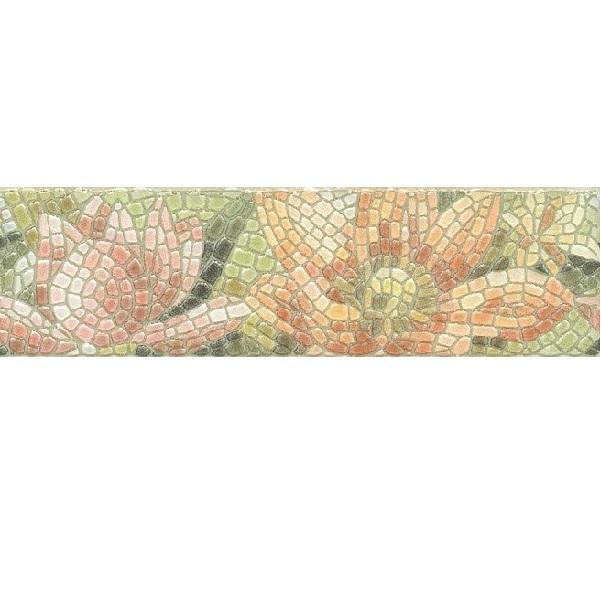 Керамический бордюр Kerama Marazzi Летний сад Лилии лаппатированный HGD/A148/880L 30х5,7 см стоимость