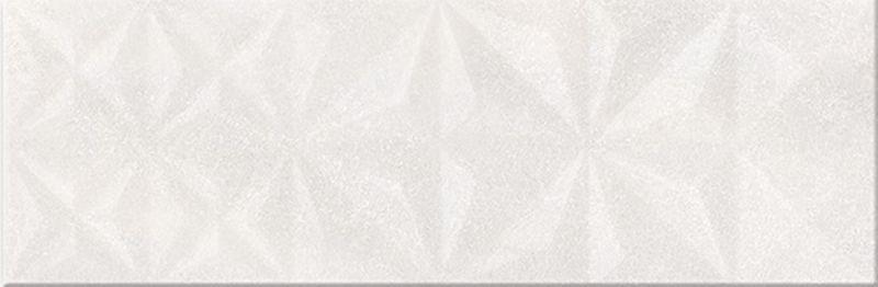 Керамический декор Mei Modern Geometric Game Cloud Glossy Squares Structure O-GEG-WTU092 настенная 25х75 см