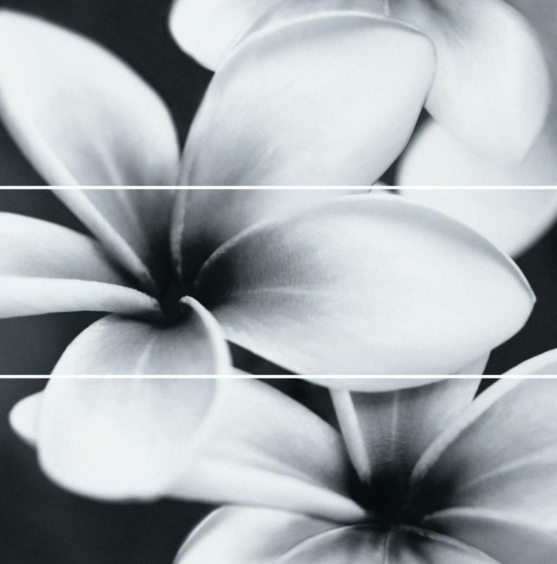Керамическое панно Mei Pret-a-Porte Universal Glass Flowers UG2U093D 75х75 см