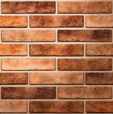 Керамическая плитка Golden Tile Seven Tones оранжевая настенная 25x6 см