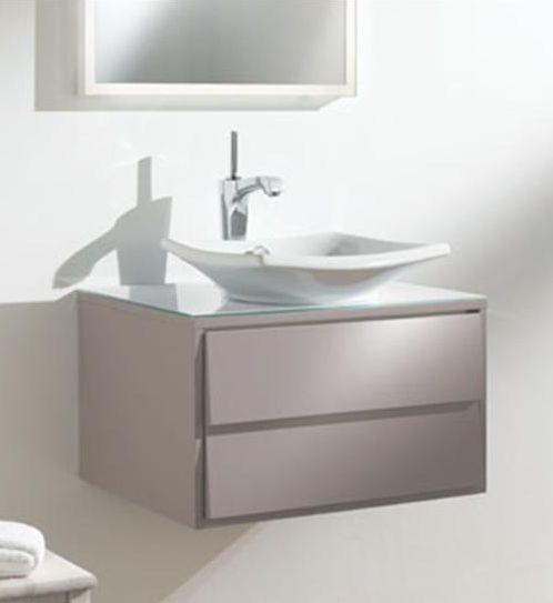 Escale EB763-N21 серый титанМебель для ванной<br>Jacob Delafon Escale EB763-N21 тумба под раковину Е1025 в сером цвете. Тумба изготавливается с одной откидной дверцей с отверстием под защелку.<br>