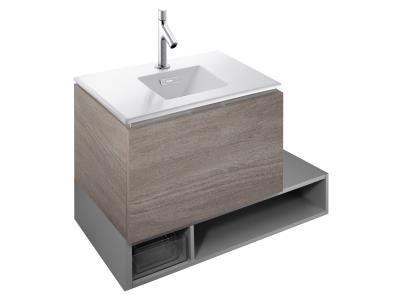 Formilia-Graphik EB1065-NF без отделкиМебель для ванной<br>Jacob Delafon Formilia-Graphik EB1065-NF раздвижная ниша-полка для хранения.<br>