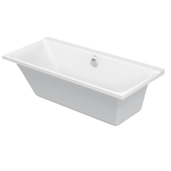 Акриловая ванна Duravit P3 Comforts 170х75 700375 белая, c наклоном для спины справа акриловая ванна vayer boomerang d1600 встраиваемая в пол