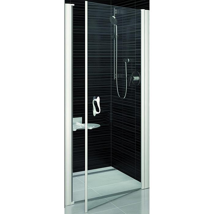 Душевая дверь в нишу Ravak Elegance ESD1-100 100x185 0EPA0A00Z1 профиль Хром стекло прозрачное душевая дверь в нишу belbagno uno bf 1 100 профиль хром стекло прозрачное