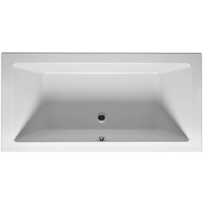 Lugo 180x80 без гидромассажаВанны<br>Акриловая ванна Riho Lugo 180x80 прямоугольная. Вместительная модель отлично дополнит большинство современных интерьеров.<br>Ванна изготовлена из акрилового листа Lucite (PMMA – полиметилметакрилат) толщиной 0.5 см. Это гладкий и теплый на ощупь материал, он не впитывает грязь и прост в уходе.<br>Ванна армирована стекловолокном с примесью полиэстра. Дно усилено ламинированным листом ДСП, что придает конструкции большую прочность и устойчивость.<br>Размер: 180x80x46.5 см.<br>Объем: 215 л.<br>Монтаж: на ножки.<br>В комплекте поставки:<br>чаша ванны<br>