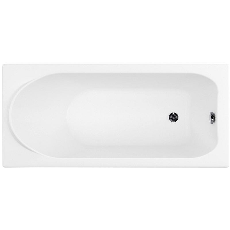 Nord Eco 160x70 на ножкахВанны<br>Акриловая ванна Aquanet Nord 160x70 00171473 прямоугольная приставная.<br>Вместительная ванна с изящным дизайном дополнит интерьер ванной комнаты в современном стиле.<br>Изготовлена из качественного акрила: гладкого и теплого на ощупь материала. Он быстро нагревается и долго сохраняет тепло воды. Благодаря отсутствию пор на поверхности не скапливается грязь и микробы.<br>Антискользящее покрытие (специальные насечки на дне ванны).<br>Удобный угол наклона задней стенки.<br>Встроенный выступ-подголовник.<br>Размер: 160x70x68 см.<br>Глубина: 43 см.<br>Объем: 195 л.<br>В комплекте поставки: ванна, ножки, слив-перелив.<br>