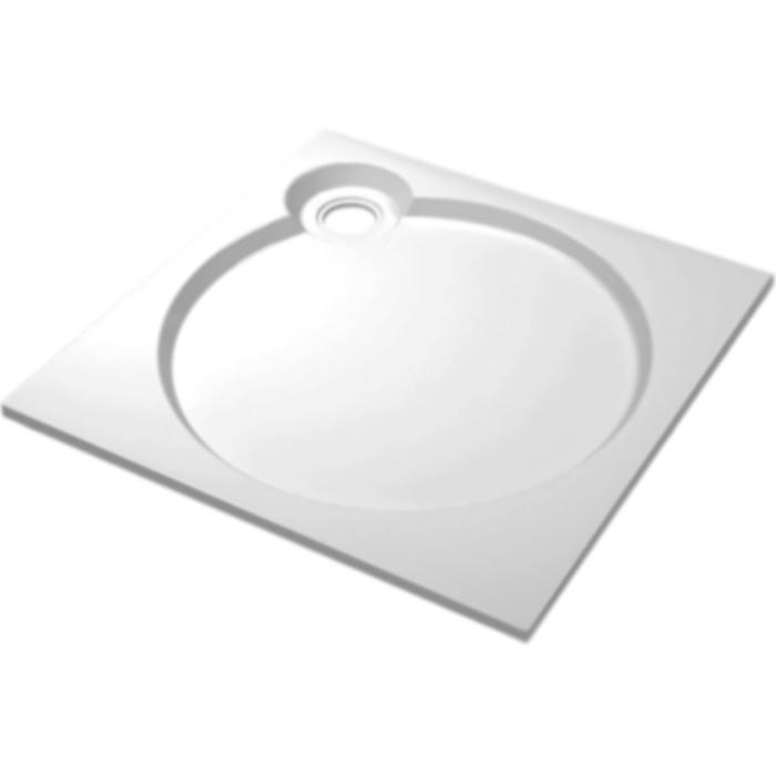 Tray S A 80x80x6 БелыйДушевые поддоны<br>Встраиваемый литой душевой поддон из искусственного мрамора Cezares Tray S A 80x80x6 TRAY-S-A-80-56-W квадратный, низкий.<br>Идеально правильная геометрическая форма.<br>Блестящая поверхность.<br>Материал: экологически чистый искусственный мрамор.<br>Соответствие: ТУ 4940-001-13327487-2014<br>Сертификат соответствия: № РОСС RU.АИ32.Н08857.<br>Покрытие гелькоутом: повышенная прочность, химическая стойкость.<br>Возможность полного восстановления поверхности (сколы, царапины).<br>Допустимые температурные перепады: -40 - +110 градусов.<br>Эффективное звукопоглощение и вибростойкость.<br>Гладкая и теплая на ощупь поверхность.<br>Неприхотливость в уходе.<br>Диаметр сливного отверстия: 9 см.<br>Монтаж: на пол/на подиум.<br>В комплекте поставки:<br>душевой поддон.<br>