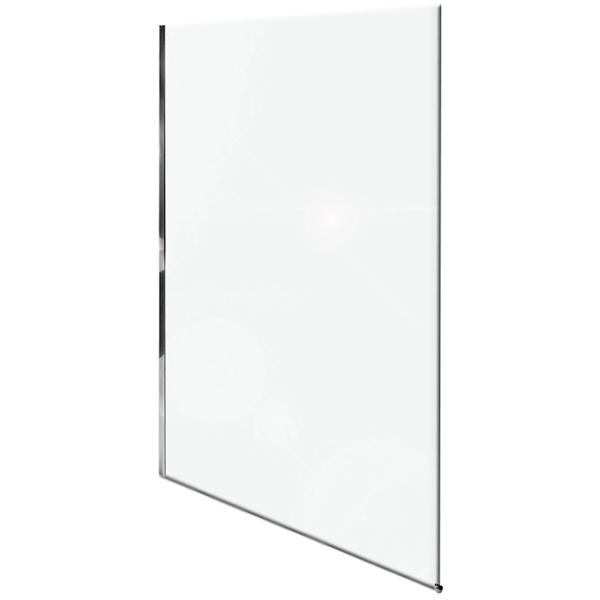 цена Душевая перегородка Jacob Delafon Contra 140x200 профиль Хром стекло прозрачное онлайн в 2017 году