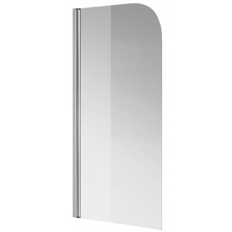 Terra TP 80 профиль хром, стекло прозрачное