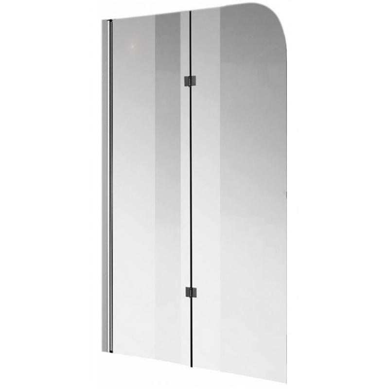 Шторка для ванны Kolpa San Terra TS 112 профиль хром, стекло прозрачное L