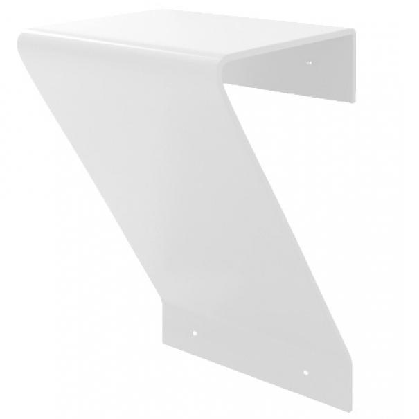 Comfort Wall БелыйДушевые ограждения<br>Стульчик пристенный Kolpa San Comfort Wall.<br>Станет дополнением любого помещения, в том числе и помещений с повышенной влажностью. Выдерживает нагрузку до 100 кг.<br>Материал: Kerrock. Это искусственный камень, в состав которого входят гидрооксид и полимерный соединитель базы акрила. Материал гипоаллергенен, отличается прочностью и имеет гладкую поверхность без пор, что препятствует размножению бактерий.<br>Размер: 30x35x48 см.<br>Цвет: белый (108).<br>