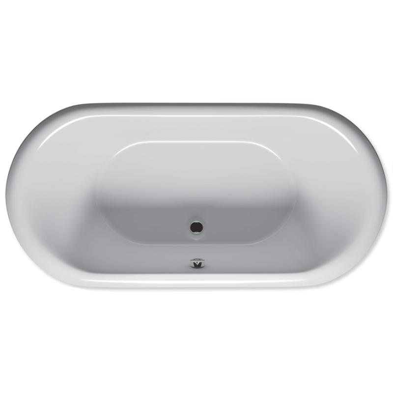 Акриловая ванна Riho Dua 180x130 без гидромассажа акриловая ванна riho doppio ba9000500000000 180x130