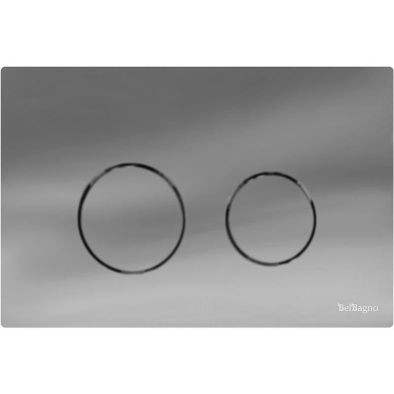 Twin BB-P57120 ХромИнсталляции<br>Клавиша смыва, вошедшая в серию Twin, выпускается итальянским производителем сантехники, BelBagno. Изделие BB-P57120 цвета «хром», выдержанное в современном стиле, оснащено прямоугольной рамкой и двумя кнопками круглой формы. Изделие рассчитано на два режима смыва, которые позволяют экономно расходовать воду. Прочное покрытие предупреждает появление на поверхности царапин, потертостей и прочих механических дефектов.<br>