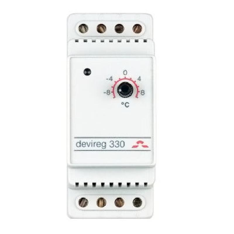 Терморегулятор Devi DEVIreg 330 140F1070 Светло-серый фото