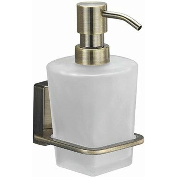 Дозатор для жидкого мыла WasserKRAFT Exter K-5299 Светлая бронза дозатор для жидкого мыла wasserkraft isar k 7399 темная бронза