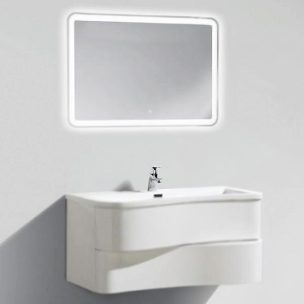 Formica 90 подвесная bianco lucidoМебель для ванной<br>Тумба под раковину BelBagno Formica 90 белая глянцевая, с двумя выдвижными ящиками, со скрытыми ручками в плоскости фасада, отражает современные тенденции в дизайне. Сочетание функциональности и комфорта от BelBagno стало возможным благодаря применению передовых технологий производства. Ящики тумбы оснащены доводчиками с функцией плавного закрывания.<br>