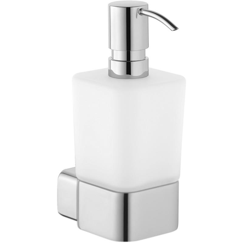 Дозатор для жидкого мыла Kludi E2 4997605 Хром Белый goowiiz белый кот meizu e2