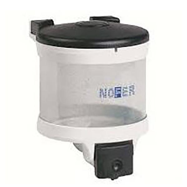 Диспенсер для жидкого мыла Nofer Basic 03018.W Белая