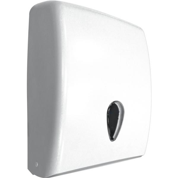 Диспенсер для бумажных полотенец Nofer 04020 Белый