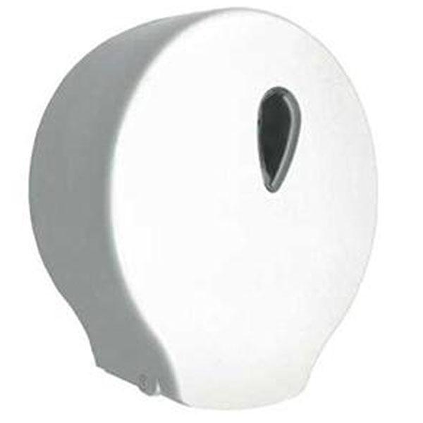 Диспенсер для туалетной бумаги Nofer 05004.W Белый держатель для туалетной бумаги brabantia profile цвет черный 483400
