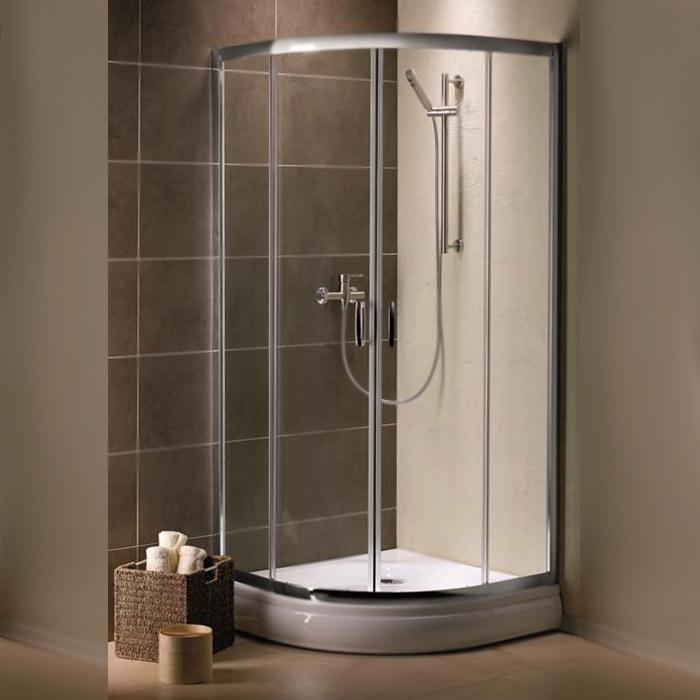 цена на Душевой уголок Radaway Premium Plus A 1900 80x80 профиль Хром стекло прозрачное