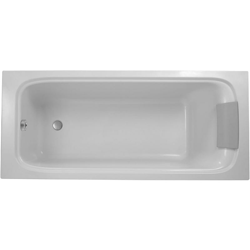 Ванна из искусственного камня Jacob Delafon Elite 170x70 E6D030RU-00 без антискользящего покрытия ванна из искусственного камня jacob delafon elite 190x90 с щелевидным переливом e6d033 00 без гидромассажа