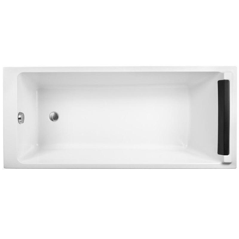 Spacio 170x75 без антискользящего покрытияВанны<br>Акриловая ванна Jacob Delafon Spacio 170x75 E6D010RU-00 с подголовником.<br>Изящный дизайн ванны совмещен с функциональностью и удобством. Универсальный стиль этой модели дополнит интерьер большинства современных ванных комнат.<br>Изготовлена из акрила - прочного и приятного на ощупь материала. Благодаря низкой теплопроводности акрил долго сохраняет тепло воды.<br>Смягченные углы с внутренней стороны чаши ванны облегчают уход.<br>Плавный наклон спинки, повторяющий анатомические особенности тела человека.<br>Увеличенное внутреннее пространство чаши для дополнительного комфорта и свободы движений.<br>Мягкий гелевый подголовник.<br>Цвет: белый.<br>Монтаж: на каркасе.<br>В комплекте поставки: чаша ванны, подголовник.<br>