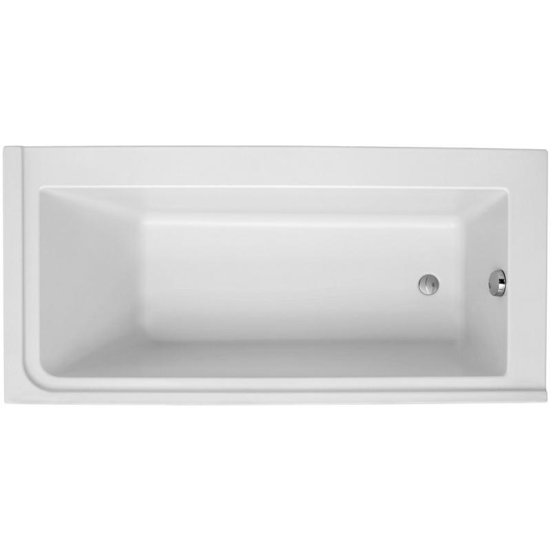 Formilia 170x80 R без антискользящего покрытияВанны<br>Акриловая ванна Jacob Delafon Formilia 170x80 R E6139R-00 правосторонняя.<br>Изящный дизайн ванны совмещен с функциональностью и удобством. Универсальный стиль этой модели дополнит интерьер большинства современных ванных комнат.<br>Изготовлена из акрила - прочного и приятного на ощупь материала. Благодаря низкой теплопроводности акрил долго сохраняет тепло воды.<br>Смягченные углы с внутренней стороны чаши ванны облегчают уход.<br>Плавный наклон спинки, повторяющий анатомические особенности тела человека.<br>Цвет: белый.<br>Монтаж: на каркасе.<br>В комплекте поставки: чаша ванны.<br>