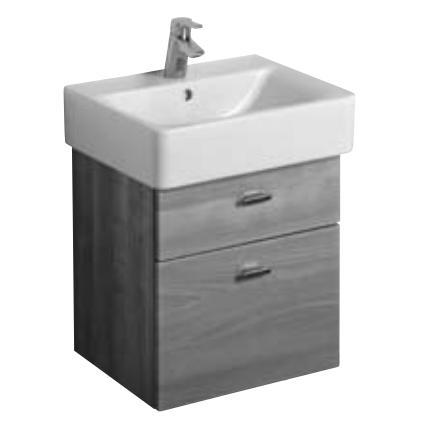 Cube Выбеленный дубМебель для ванной<br>Ideal Standart C 1835 SV Connect Cube подвесной шкафчик под умывальник E 7945 xx.  В комплектацию входят: два выдвижных ящика, петли с плавным закрытием, хромированные ручки. Цвет выбеленный дуб.<br>