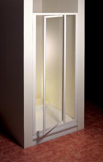 SDOP-120 белая+ПеарлДушевые ограждения<br>SDOP состоят из одной неподвижной части и поворотной двери. Левый или правый варианты входа устанавливаются простым поворотом дверей.<br>Высота душевых дверей 1850 мм, для жестких стенок PSS.<br>Витраж: полистирол.<br>