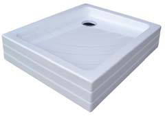 Aneta-75 PU PU белыйДушевые поддоны<br>Акриловый прямоугольный поддон Ravak Aneta PU самонесущий с панелью в едином целом. Предназначен для установки на пол готовой ванной комнаты. Отверстие для сифона имеет диаметр 90 мм.<br>