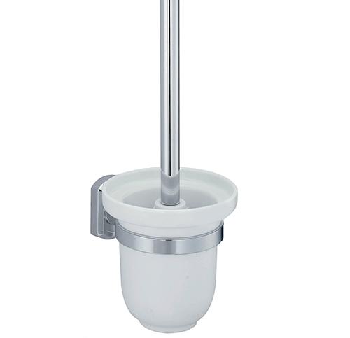 Oder K-3027C ХромАксессуары для ванной<br>Wasser Kraft Oder K-3027C щетка для унитаза подвесная. Цвет: Хром. Для изготовления щетки используется металл; Хромоникелевое покрытие (устойчиво к потускнению, легко очищается и придает аксессуарам зеркальный блеск); Уплотнительные пластиковые кольца (необходимы для плотного и бесшумного соединения, металла и стекла); Белоснежная керамика.<br>