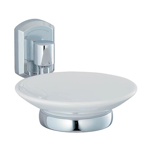 Oder K-3029C ХромАксессуары для ванной<br>Wasser Kraft Oder K-3029С мыльница керамическая. Цвет: Хром. Для изготовления мыльницы используется металл; Хромоникелевое покрытие (устойчиво к потускнению, легко очищается и придает аксессуарам зеркальный блеск); Уплотнительные пластиковые кольца (необходимы для плотного и бесшумного соединения, металла и стекла); Белоснежная керамика.<br>