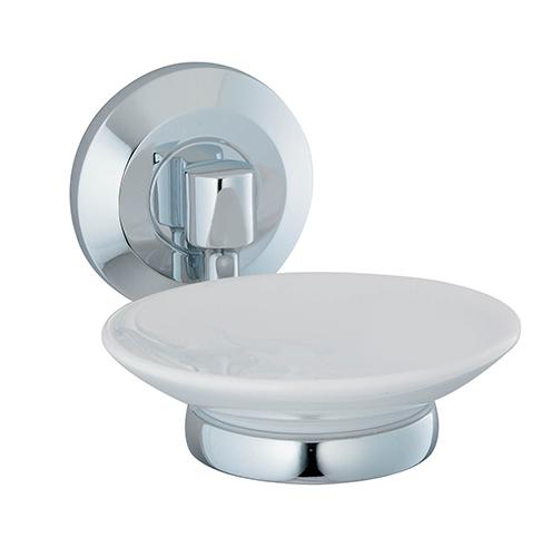 Rhein K-6229C ХромАксессуары для ванной<br>Wasser Kraft Rhein К-6229С мыльница керамическая. Цвет: Хром. Для изготовления мыльницы используется металл; Хромоникелевое покрытие (устойчиво к потускнению, легко очищается и придает аксессуарам зеркальный блеск); Уплотнительные пластиковые кольца (необходимы для плотного и бесшумного соединения, металла и стекла); Белоснежная керамика.<br>