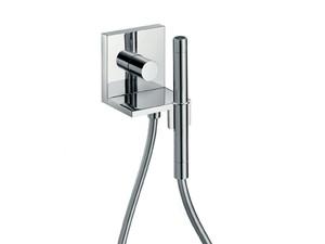 Starck 10651000 ХромДушевые гарнитуры<br>Axor 10651000 AX Starck ShowerCollection модуль ручного душа (внешняя часть). В комплекте поставки: декоративная панель, рукоятка, гильза, душевой шланг Isiflex 1,25 м, ручной душ Axor Starck с двумя типами струи.<br>