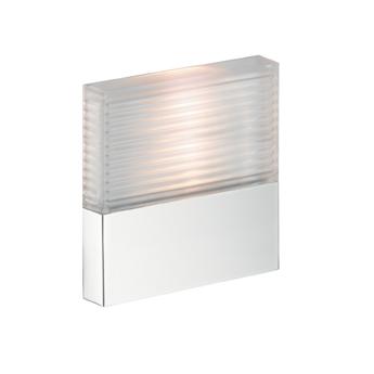 Starck 40871000 ХромДушевые гарнитуры<br>40871000 AX Starck ShowerCollection модуль подсветки<br>· подходит для душевой зоны<br>· комбинация рифленого стекла и металла<br>· в комплекте с лампами (3х1W)<br>использовать со:<br>· скрытой частью # 40876180.<br>