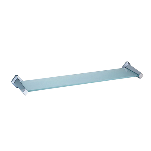 Aller K-1124 ХромАксессуары для ванной<br>Wasser Kraft Aller K-1124 полка стеклянная. Цвет: Хром. Для изготовления полки используется металл; Хромоникелевое покрытие (устойчиво к потускнению, легко очищается и придает аксессуарам зеркальный блеск); Уплотнительные пластиковые кольца (необходимы для плотного и бесшумного соединения, металла и стекла); Закаленное стекло толщиной 6 мм (закаленное стекло прочнее обыкновенного в 5-10 раз, также обладает термической прочностью, выдерживает температуру до 300 градусов).<br>
