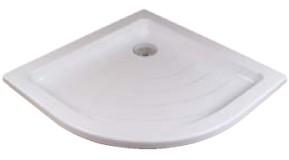 Ronda-80 LA LA белыйДушевые поддоны<br>Акриловый поддон Ravak Ronda-80 LA белый для установки на опоры (Base) или в пол. Отверстие для сифона имеет диаметр 90 мм.  Поддон радиальный в форме четверти круга.<br>